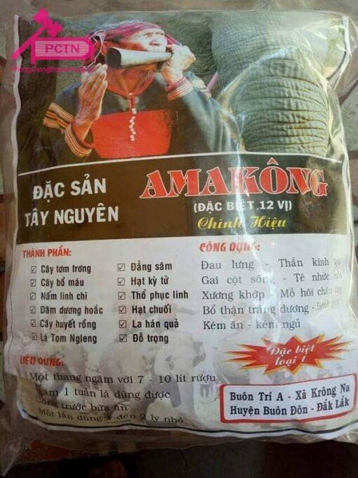 Amakong tây nguyên