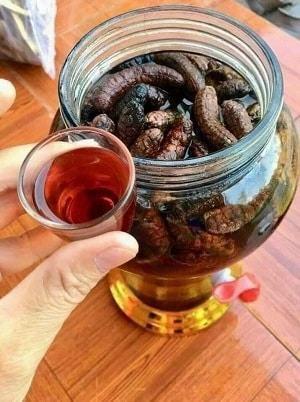 Chuối Hột Rừng NGâm Rượu