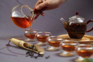 Tác dụng giảm cân của trà sơn mật hồng sâm