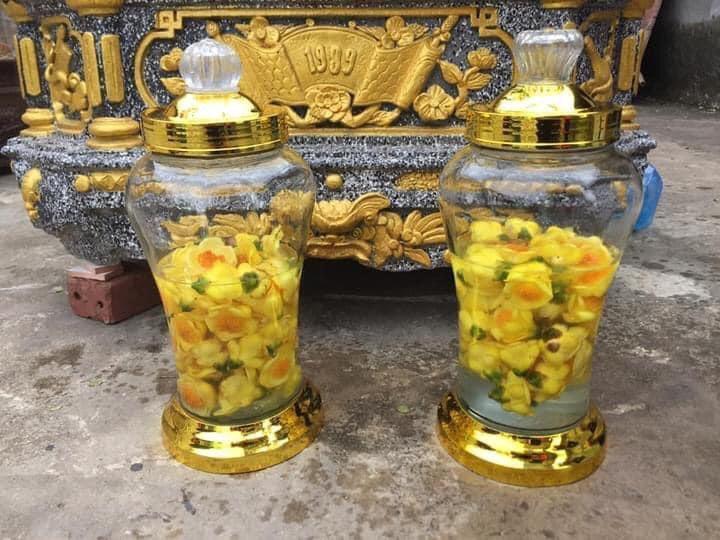 Trà hoa vàng ngâm rượu