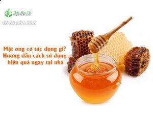mật ong có tác dụng gì?
